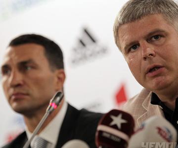Владимир Кличко и Андрей Рябинский