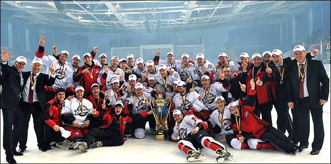 """ХК """"Донбасс"""" — чемпион Украины 2011 года"""