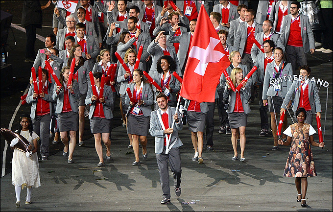 Станислас Вавринка стал знаменосцем сборной Швейцарии