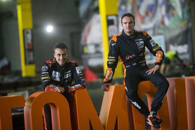 Роман Русинов и Гидо ван дер Гарде — партнёры по G-Drive Racing