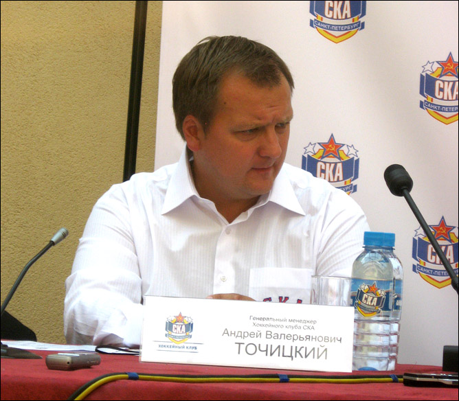 Пресс-конференция СКА 26.07.2010. Фото 03.