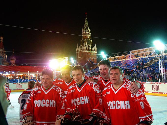 Легендарная пятёрка: Макаров, Фетисов, Ларионов, Касатонов, Крутов