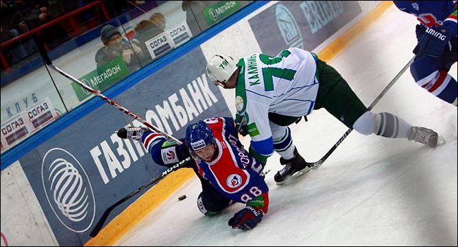 26.11.2010. КХЛ. Сибирь - Салават Юлаев - 0:3. Фото 03.