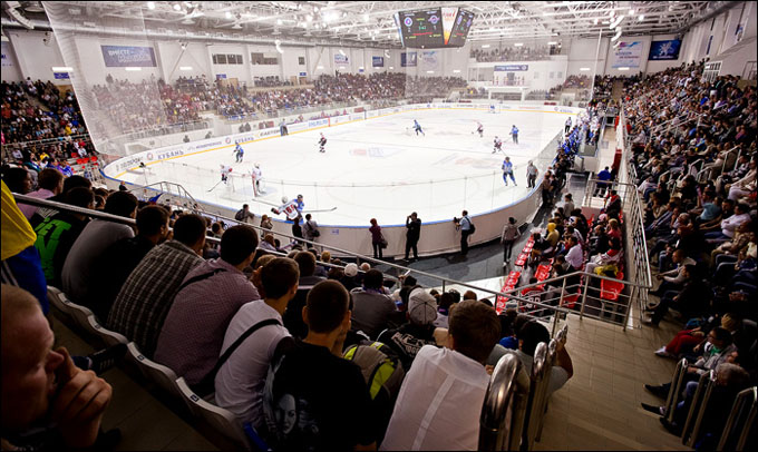 Краснодар заболевает хоккеем