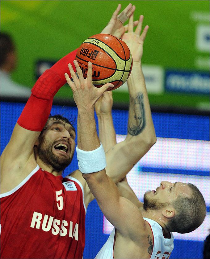 Евробаскет — 2013. Россия — Турция — 89:77