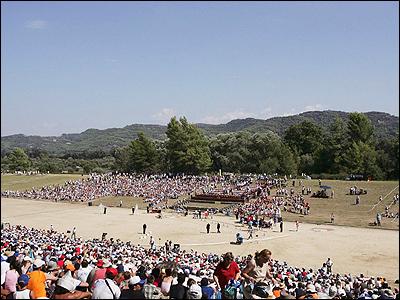18 августа 2004 года на Стадион вернулись Олимпийские игры