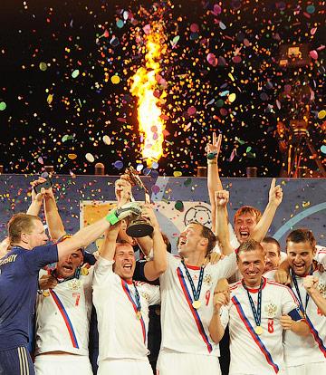 Сборная России по пляжному футболу выиграла чемпионат мира