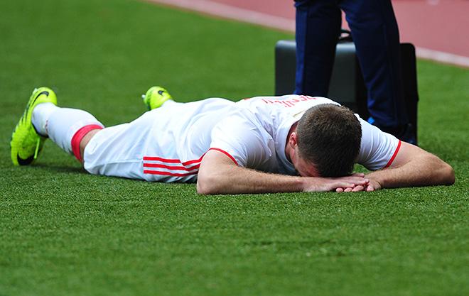 Игорь Денисов получил травму и пропустит Евро-2016