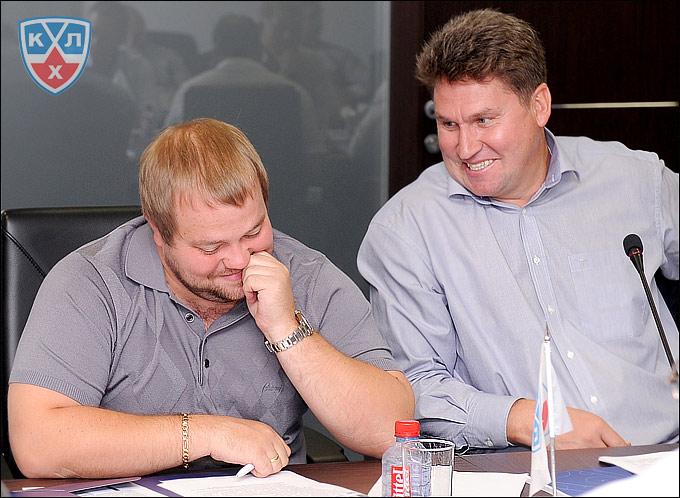 Виктор Шалаев и Андрей Попугаев