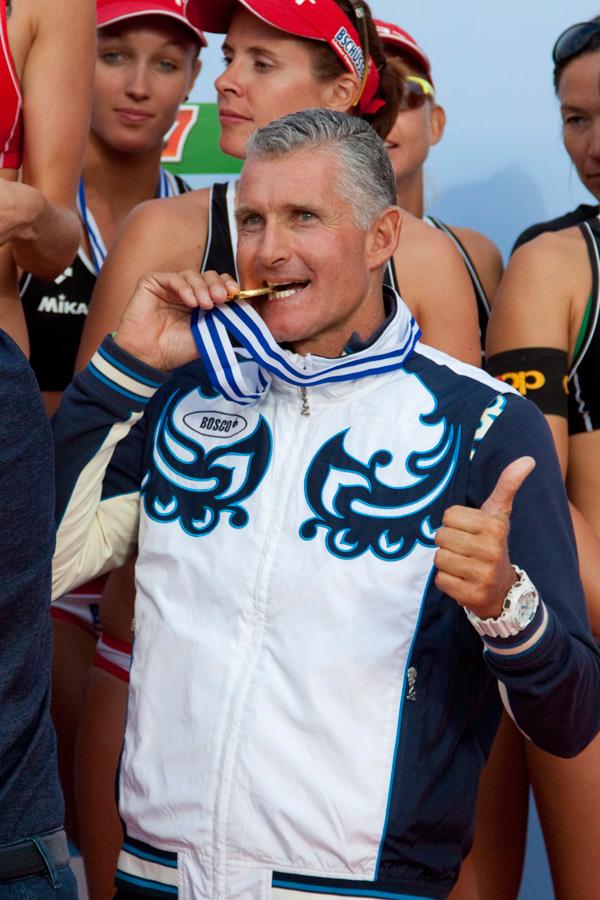Главный тренер женской сборной Марко Солюстри
