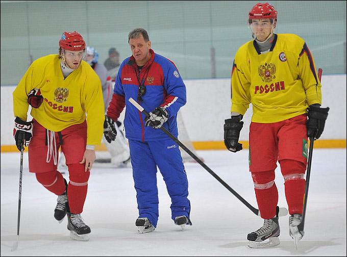 Михаил Григоренко, Михаил Варнаков и Антон Слепышев
