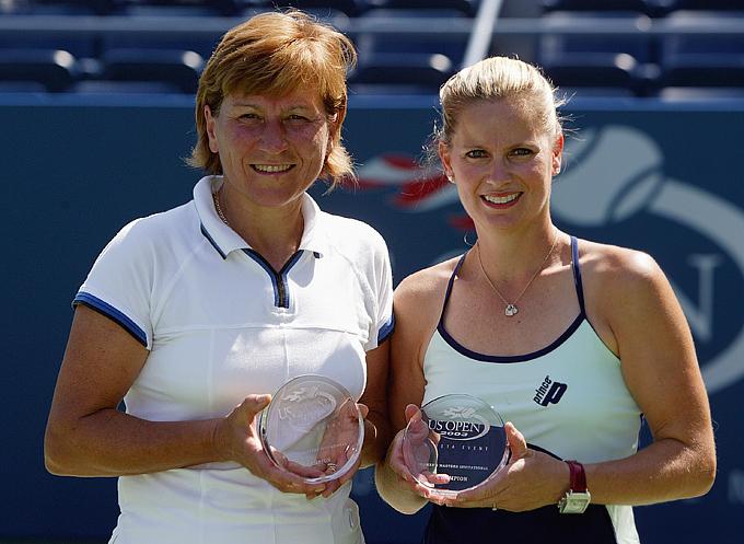 Ольга Морозова и Кэти Риналди. 2003 год