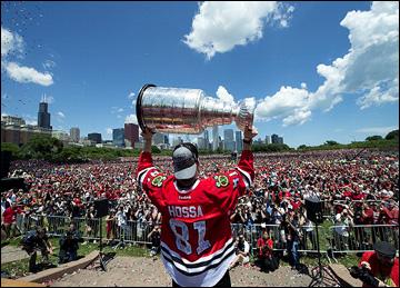 "Итоги сезона НХЛ. ""Чикаго Блэкхоукс"". Мариан Госса"