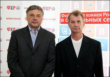 Новый тренерский штаб женской сборной: Юрий Новиков и Михаил Чеканов