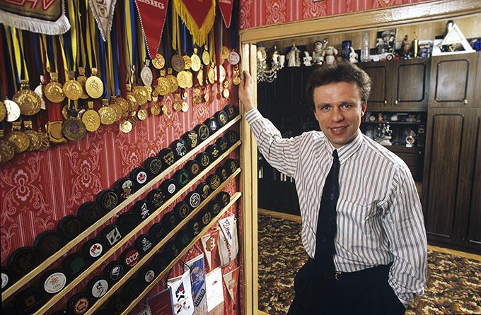Стена славы Вячеслава Фетисова