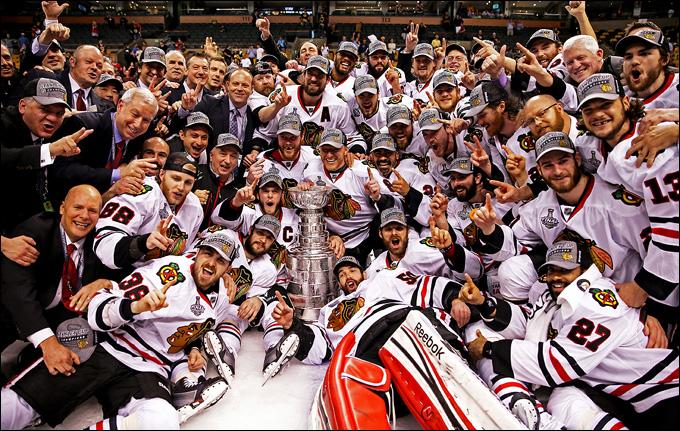 """Итоги сезона НХЛ. """"Чикаго Блэкхоукс"""" — обладатели Кубка Стэнли 2012 года"""