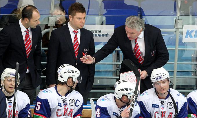 Главный тренер СКА Милош Ржига