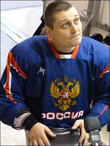 Вадим Селюкин — капитан сборной России