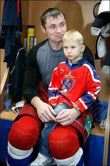 Денис Куляш с сыном Дэни