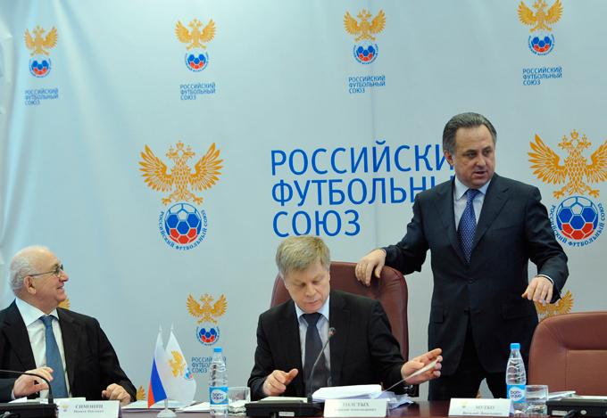 Никита Симонян, Николай Толстых и Виталий Мутко