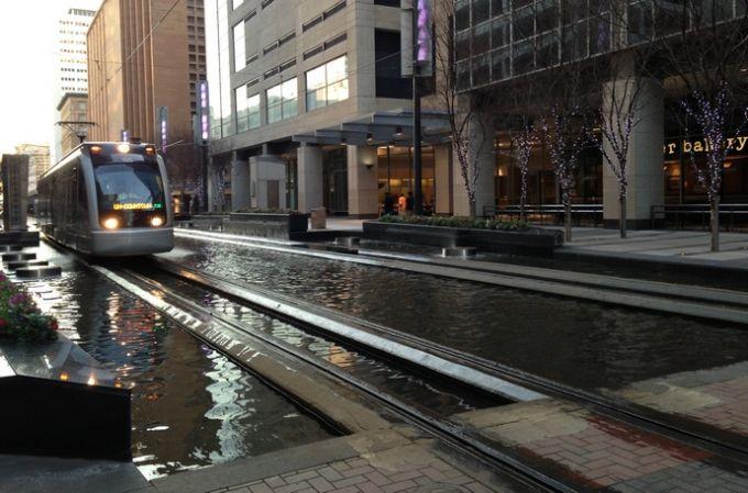 Трамвай в Хьюстоне