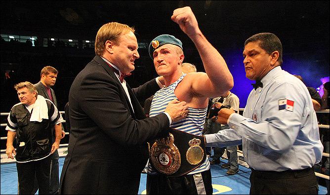 Денис Лебедв — временный чемпион WBA в первом тяжёлом весе