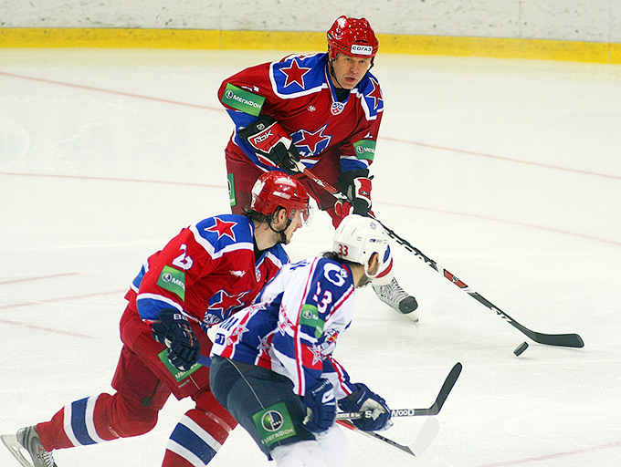 Возвращение Вячеслава Фетисова на лёд