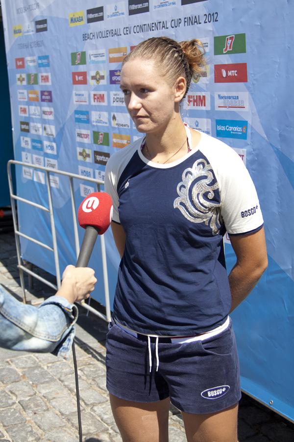 Анастасия Васина и Анна Взакова сыграют в финале Кубка ЕКВ