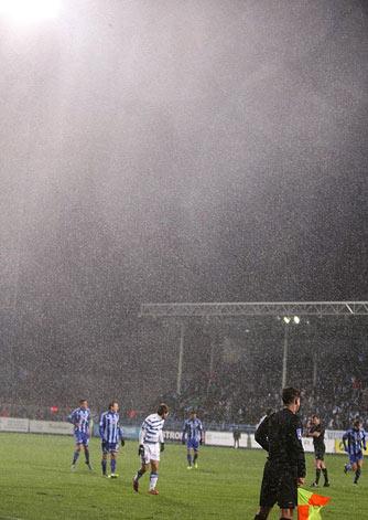 Дождь с градом в Севастополе