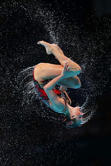 Российские представительницы синхронного плавания в очередной раз стали лучшими