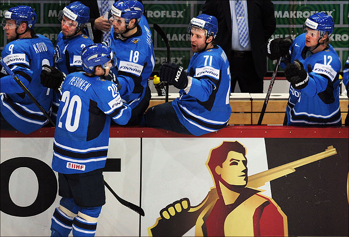 10 мая 2012 года. Хельсинки. Чемпионат мира. Групповой турнир. Финляндия — Франция — 7:1