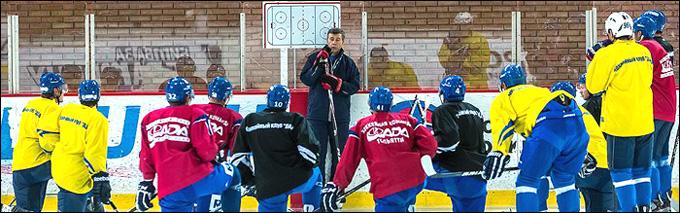 Игорь Жилинский и его команда