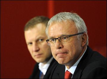 Вячеслав Фетисов на пресс-конференции перед Матчем всех звёзд