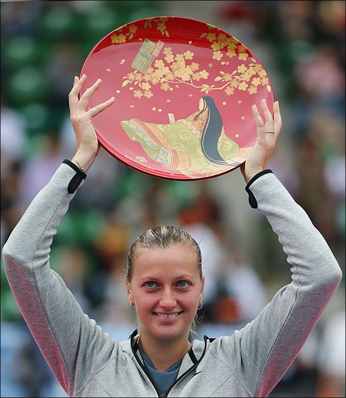 Петра Квитова завоевала свой 11-й титул
