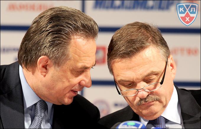 Виталий Мутко и Рене Фазель