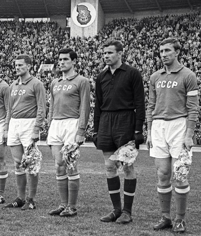 Лев Яшин в составе сборной СССР