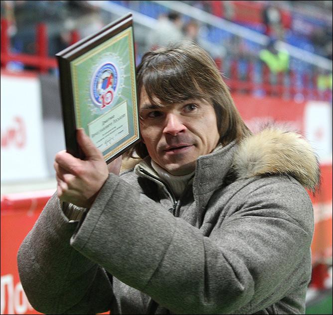 Очередная награда Дмитрия Лоськова