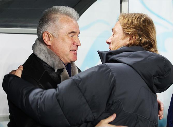 Сергей Силкин и Валерий Карпин