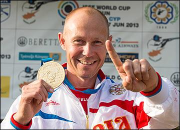 Василий Мосин и золотая медаль