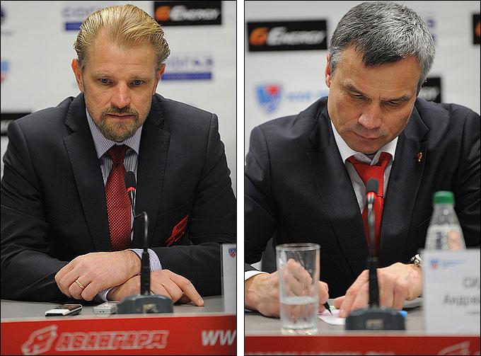 Андрей Сидоренко и Петри Матикайнен