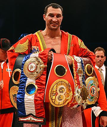 Владимир Кличко — абсолютный чемпион мира в супертяжёлом весе