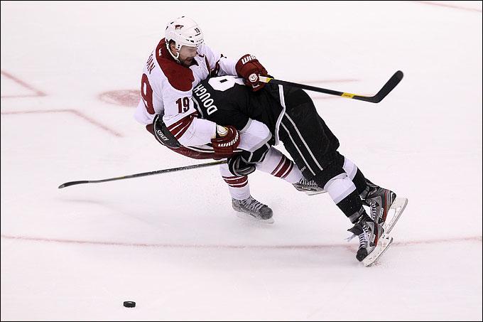 """20 мая 2012 года. Лос-Анджелес. Плей-офф НХЛ. Финал Западной конференции. """"Лос-Анджелес Кингз"""" — """"Финикс Койотс"""" — 0:2"""