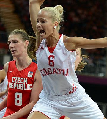 Самая сексуальная баскетболистка Олимпиады-2012 Антония Мишура (Хорватия)
