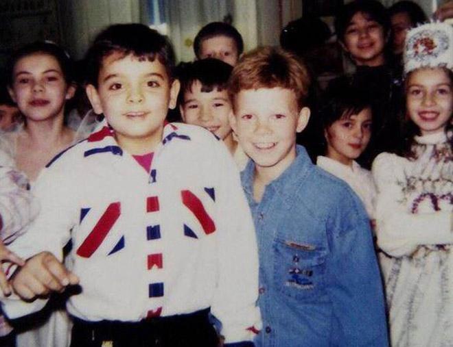 Денисов всегда выделялся в толпе — даже в детстве «рыжего» невозможно было не заметить