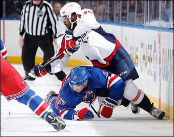 """12 мая 2013 года. Нью-Йорк. Плей-офф НХЛ. 1/8 финала. Матч № 6. """"Рейнджерс"""" — """"Вашингтон"""" — 1:0"""