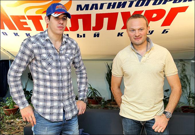Евгений Малкин и Сергей Гончар