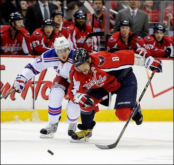 """2 мая 2013 года. Вашингтон. Плей-офф НХЛ. 1/8 финала. Матч № 1. """"Вашингтон"""" — """"Рейнджерс"""". Неудержимый капитан"""