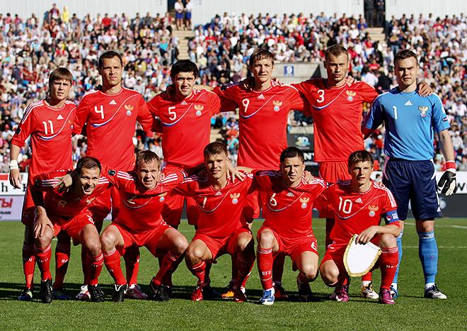 Форма сборной России в 2011 году