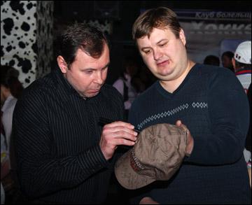 Игорь Земляной и болельщики