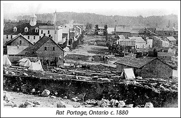 Портэдж в 1880 году